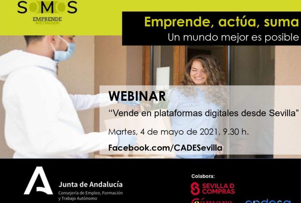 CADE Dos Hermanas. Curso de Venta en plataformas digitales desde Sevilla